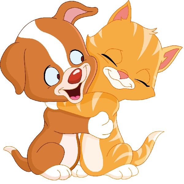 clip art free dogs and cats - photo #21