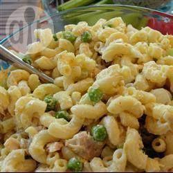 Salade de macaroni facile au thon