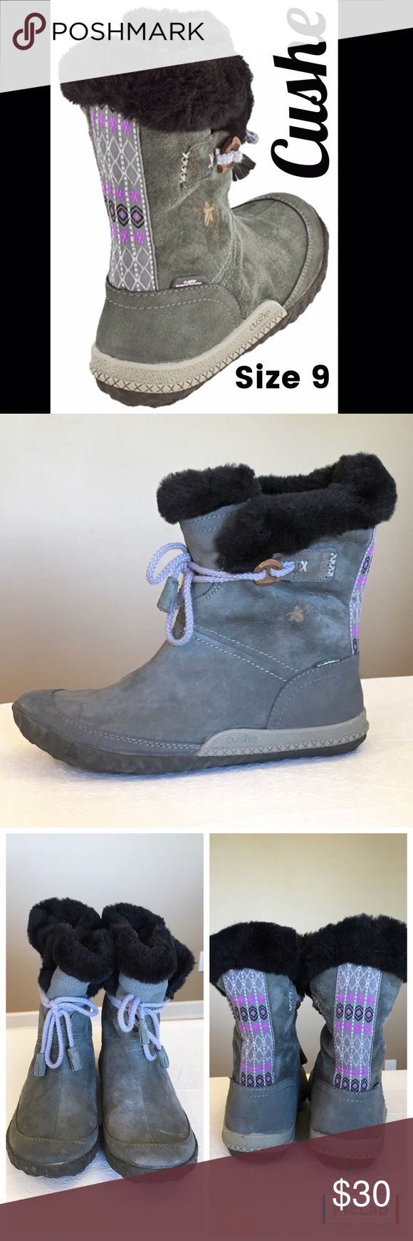 NWOT Cushe Fireside Charcoal Suede Boots Size 9 NWOT so comfy and cute! Cushe Shoes Winter & Rain Boots