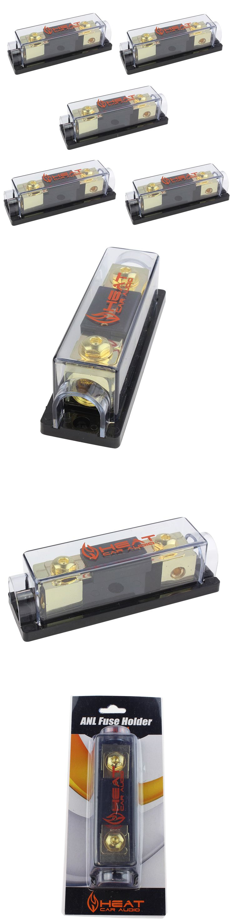 Fuses and Fuse Holders: 250 Amp Anl Fuse Holder Inline Block For Car Amp Installation Anlfh250 (5 Pack) BUY IT NOW ONLY: $31.9