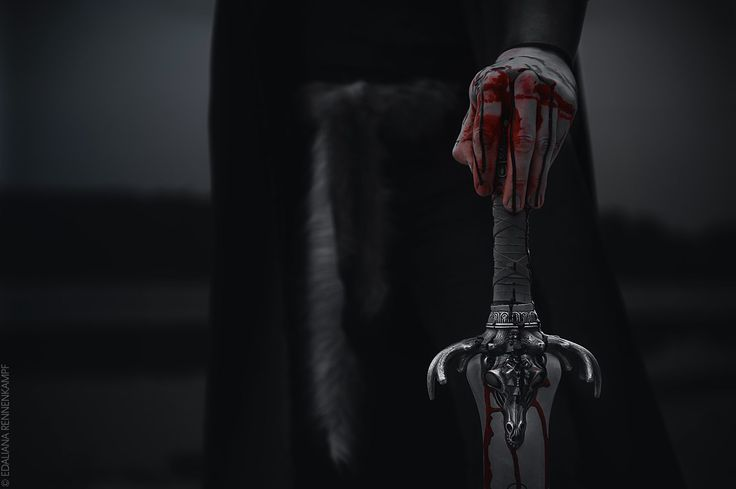Just because he's not on the receiving end of the blade doesn't mean it's not hurting him.