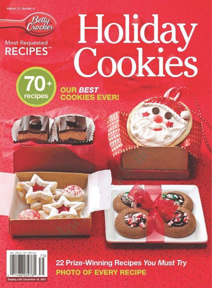 Betty crocker holiday cookies