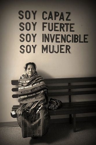 soy mujer