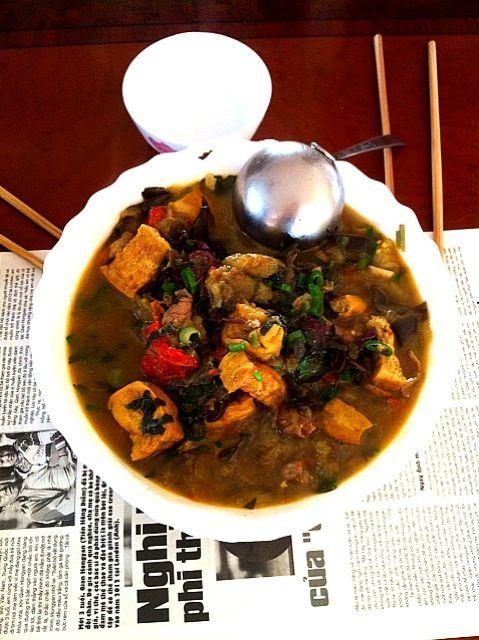 ❤ - 31件のもぐもぐ - cà bung- eggplant soup wt tofu, pork& spring onion by Thanh Thanh