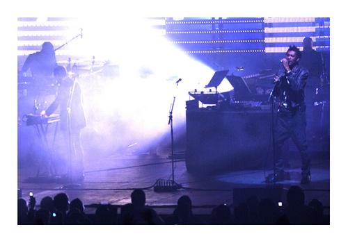 Massive Attack - Auditorio Telmex - Zapopan, Jalisco. México. Febrero 2010.