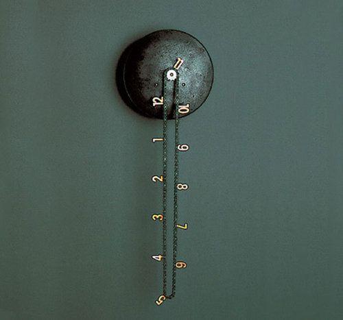 That Clock!: Idea, Rustic Wall, Cool Clocks, Old Bike, Chains Clocks, Wall Clocks, Products, Design, Ticking Tock