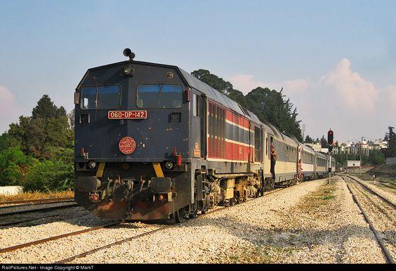 RailPictures.Net Photo: DP142 Societé Nationale de Chemins de Fer Tunisiens (SNCFT) Bombardier MXS624 at Beja, Tunisia by MarkT: