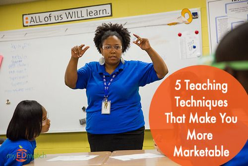 5 teaching techniques that make you more marketable: http://myedmatch.tumblr.com/post/56888726339/by-samantha-cleaver-edresumecoach-and-myedmatch