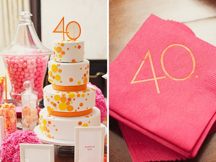 Fabulous 40th Birthday Party For Author Emily Giffin