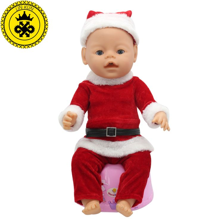Baby Born Doll Clothes Fit 43cm Baby Born Zapf Doll Red Clothes ...