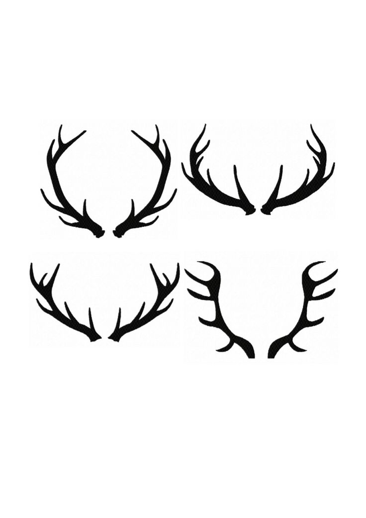 Set 4 Silhouette Buck Antlers Fill Machine Embroidery DESIGN NO. 71 by HippityHopEmbroidery on Etsy https://www.etsy.com/listing/197699976/set-4-silhouette-buck-antlers-fill