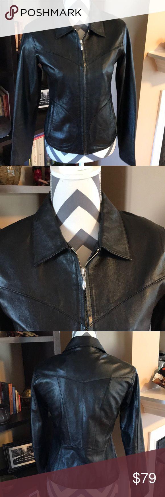 Wilsons Leather Maxima Jacket XS BLACK Wilsons Leather