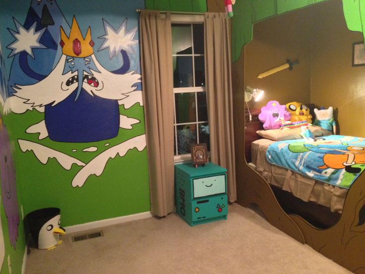 Adventure Time Bedroom Project   John Sorci I may be 30 something but I want this bedroom!!! Hahah