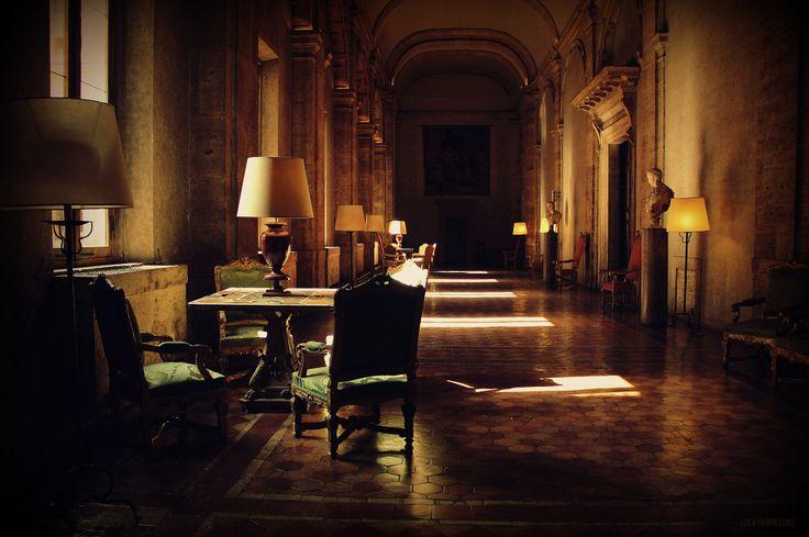 Roma - Interno di Palazzo Farnese
