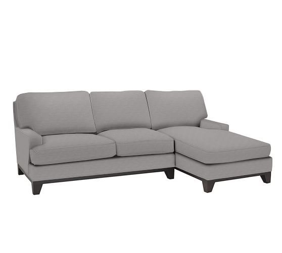 seabury upholstered sofa with chaise sectional