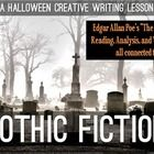 A Gothic Fiction lesson for Halloween!  Great for high school English - check out this great resource! ($)