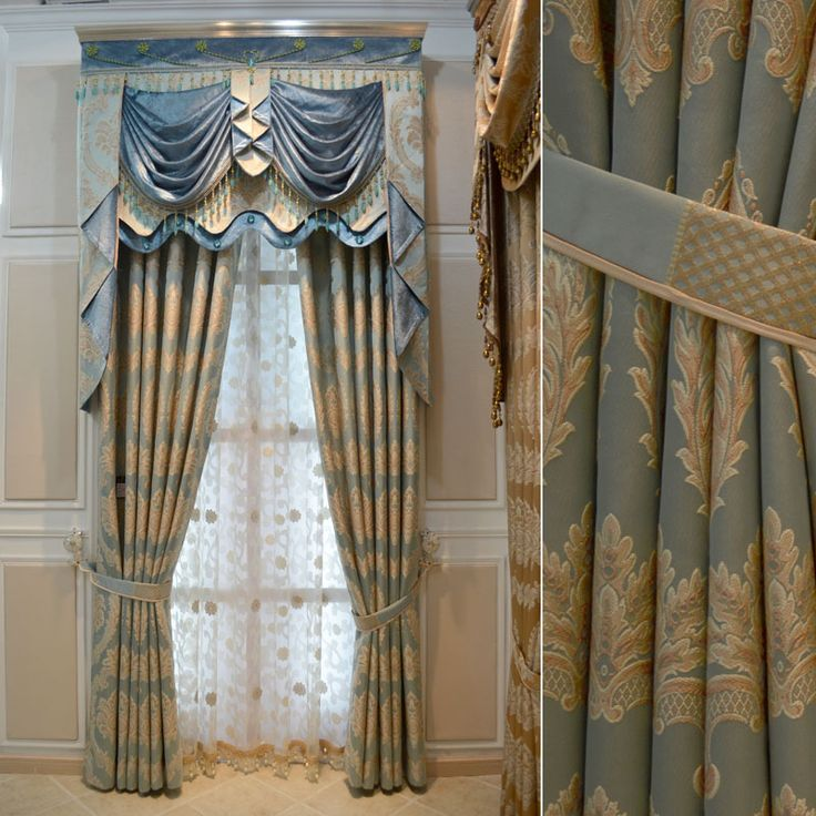 27 best Living room   Dining room curtains images on Pinterest blue white gold drapes   House Hotel curtains for living room Gold  thickening. Beautiful Drapes For Living Room. Home Design Ideas