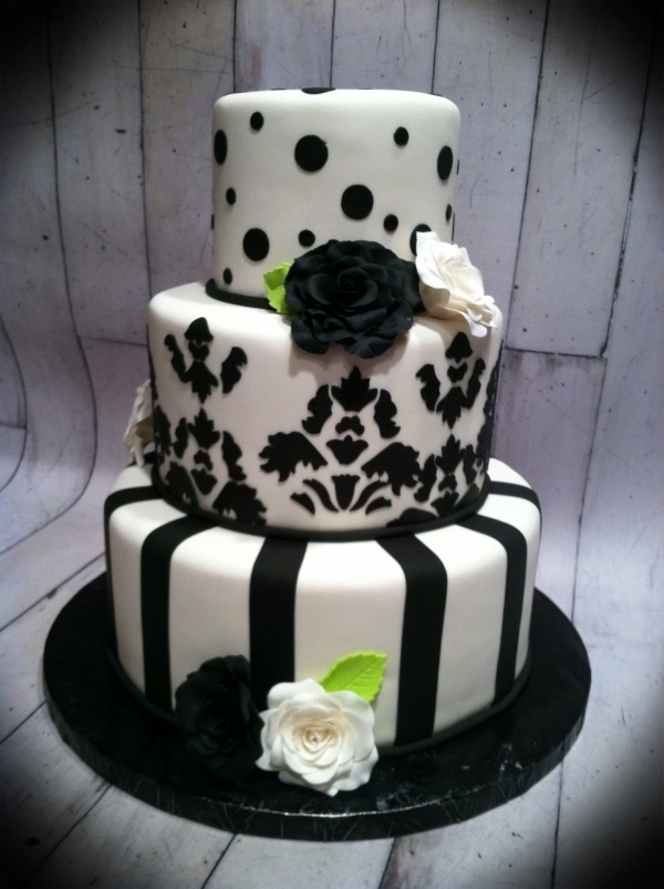 lime green and black wedding cakes black white and lime green wedding cake wedding cakes 16893