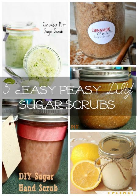 Outnumbered 3 to 1: 5 Easy Peasy DIY Sugar Scrubs