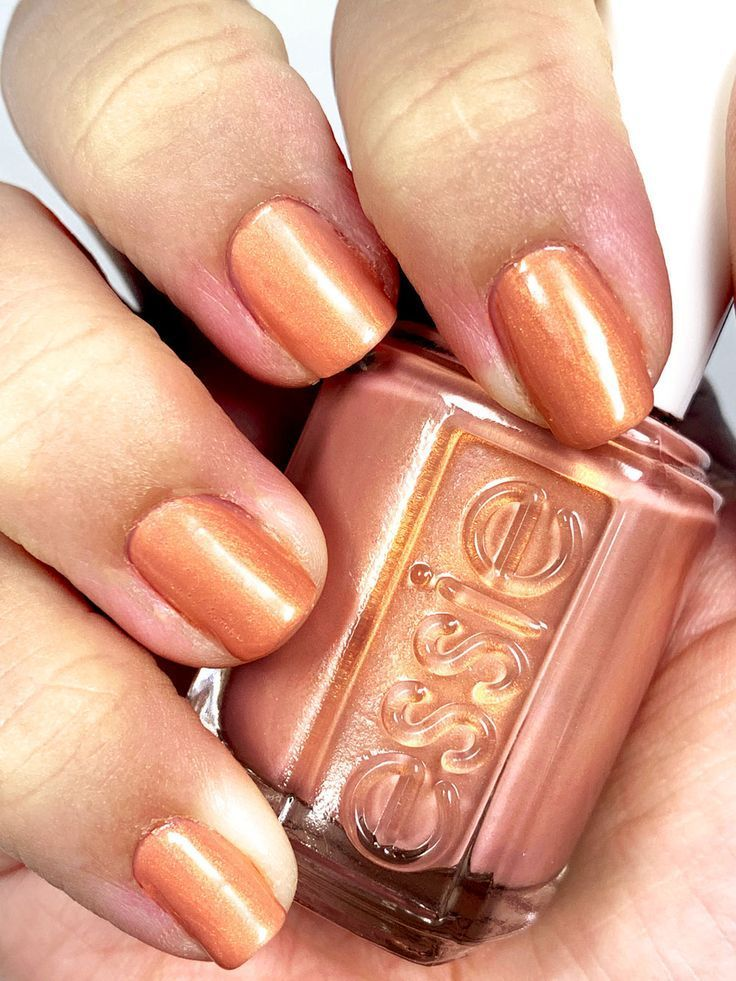 The Best At Home No Lamp Gel Nail Polish Lexis Rose Essie Gel Nails Essie Gel Nail Polish Nail Polish