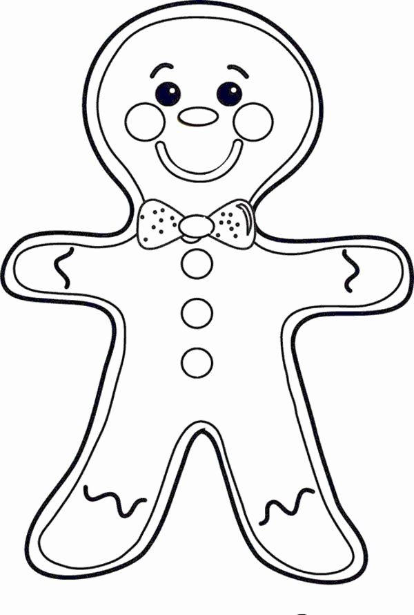 Gingerbread Man Coloring Page Luxury Cheeky Mr Gingerbread Men