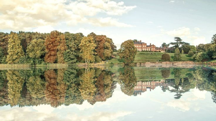 The National Trust's Dudmaston Estate, Shropshire, is a beautiful 17th century house with wooded parkland and sweeping gardens.