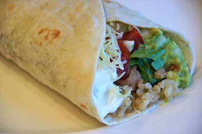 Copycat 7-Layer Burrito.  Like Taco Bell's, but WAY better!