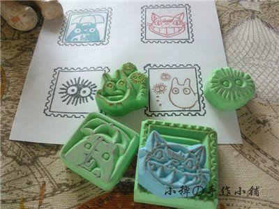 [Руководство] Тоторо марка сочетание Barnyard Глава ручной штамп / печать - Taobao