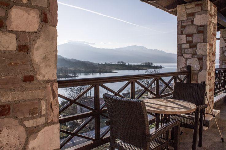 Δίκλινο Δωμάτιο #ξενοδοχείο #Τιτάγιον #Λϊμνη Πλαστήρα #Λαμπερό #θέα