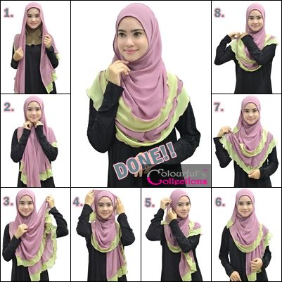 Colourful Collections: Tudung, Syria, Shawls, Inner & Telekung: SHAWLS BELLA