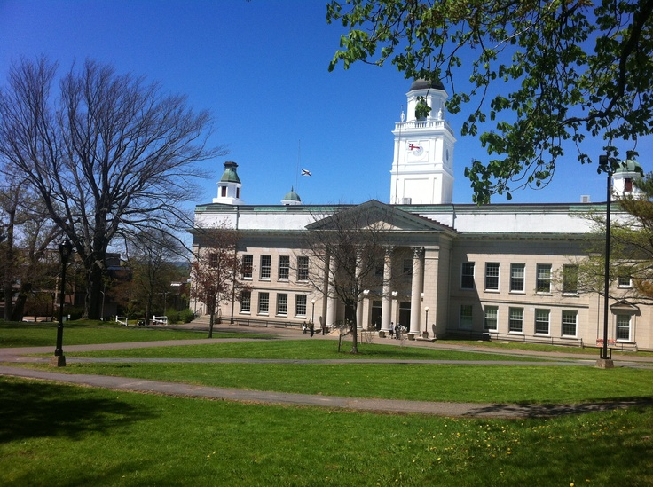 University Hall on Convocation Day in May!