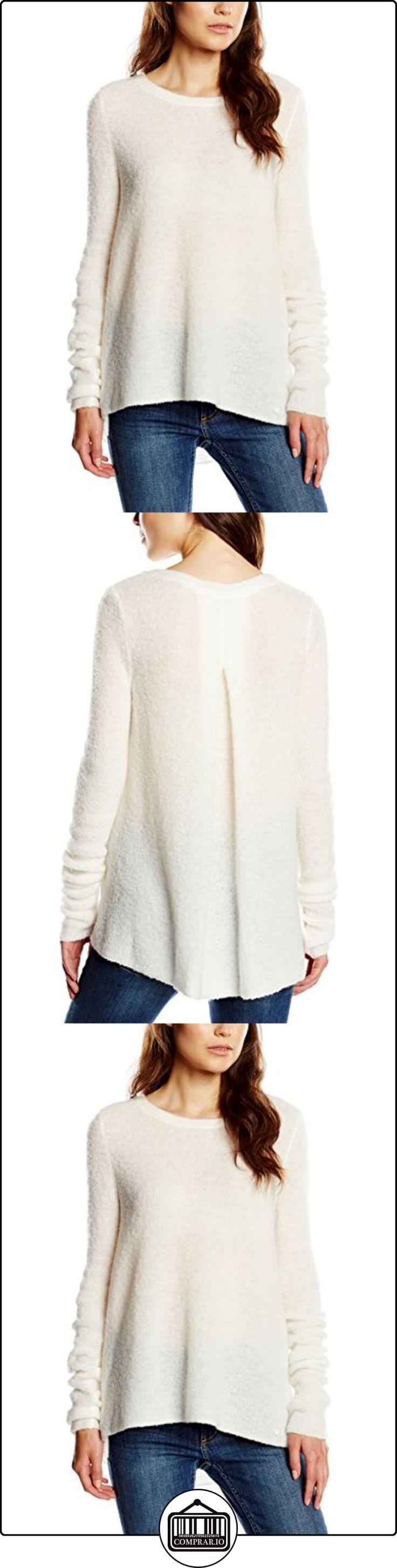 Marc O'Polo 507 5221 60073 - Suéter para mujer, color elfenbein (birch white 105), talla 38  ✿ Ropa de punto ✿