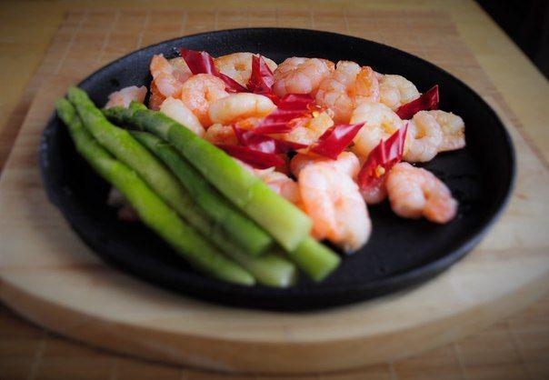 Ирина Терезникова креветки в чесночном соусе shrimps with garlic sauce