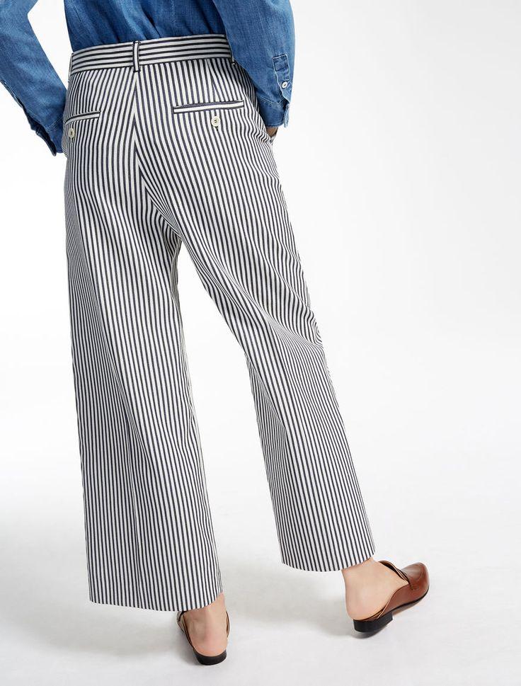 Pantaloni in misto cotone Weekend Maxmara