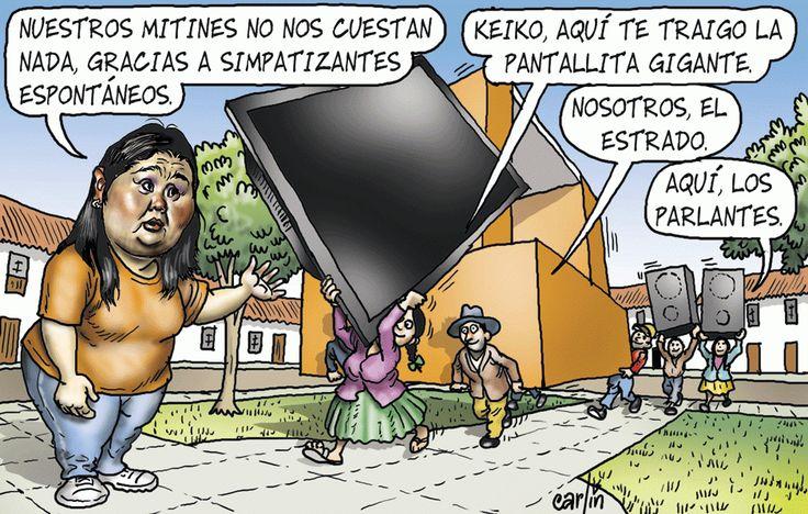 Carlincatura del Domingo 8 de Noviembre, 2015 | Noticias del Perú | LaRepublica.pe