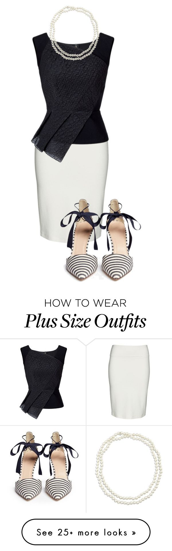 """what's the scoop?"" by barbielish on Polyvore featuring Yoek, Roland Mouret, J.Crew and Chico's"