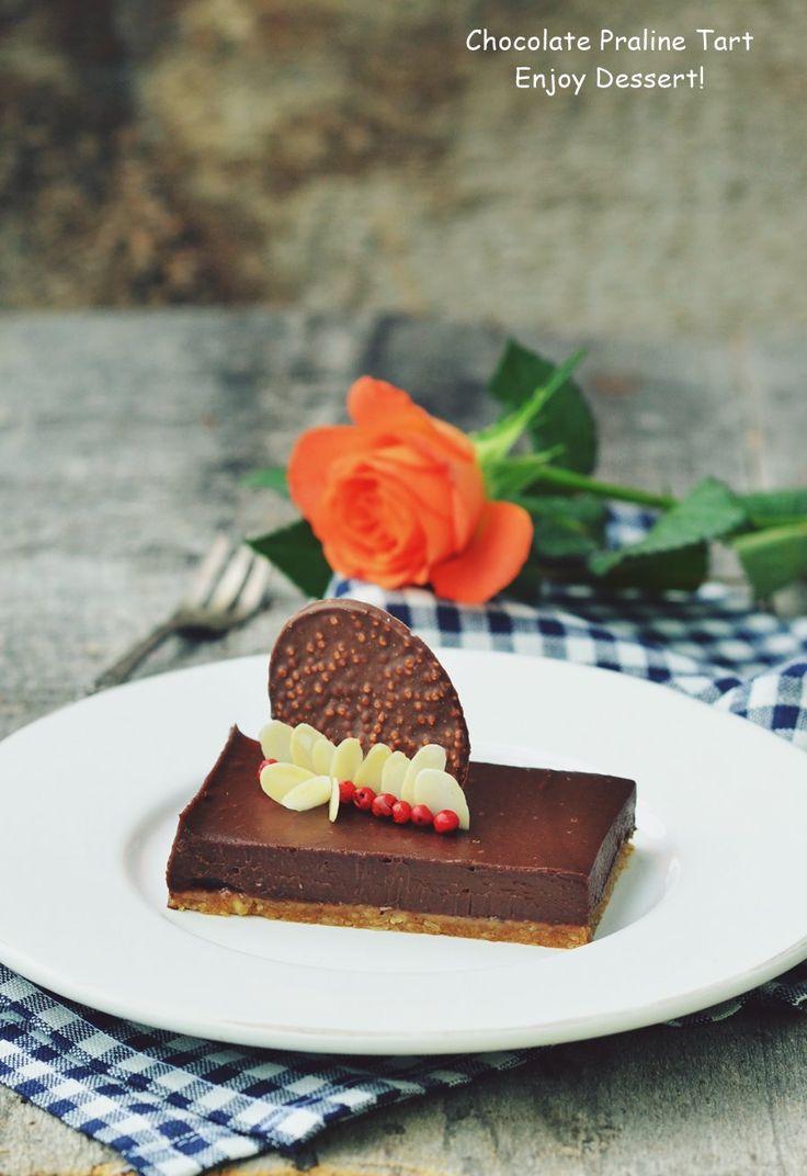 Chocolate Praline Tart