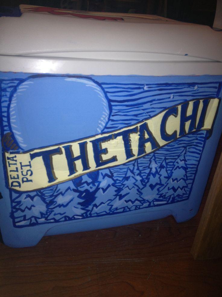 Theta Chi / Blue Moon Cooler #TSM