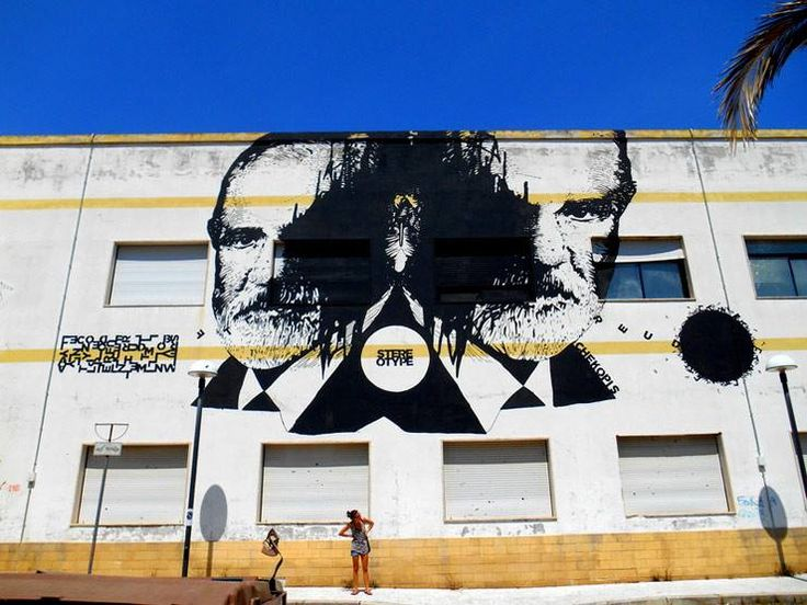 by Chekos'Art + Opiemme - For Street Like Rainbow Festival - Castellaneta, Italy - Aug 2014