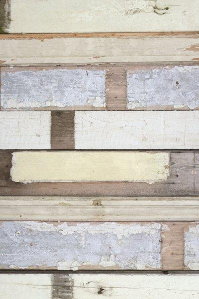 Studio Ditte Scrapwood White Wallpaper