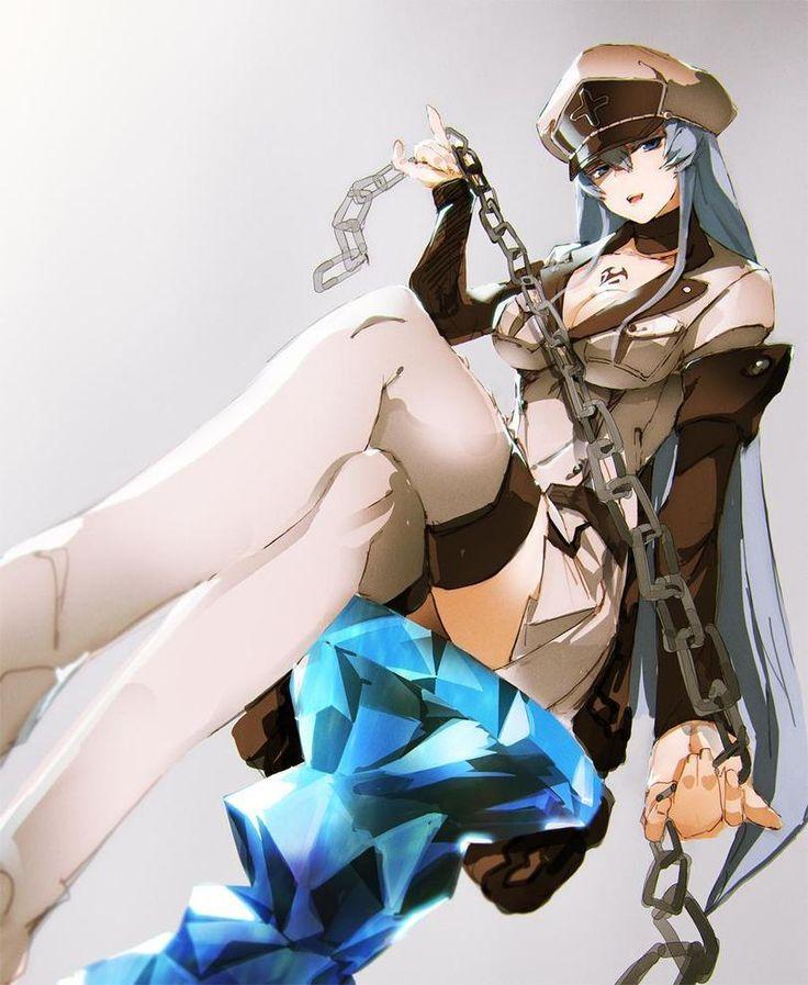 esdeath,So-Bin,Anime Art,Аниме арт, Аниме-арт,Anime,аниме,Akame ga KILL!