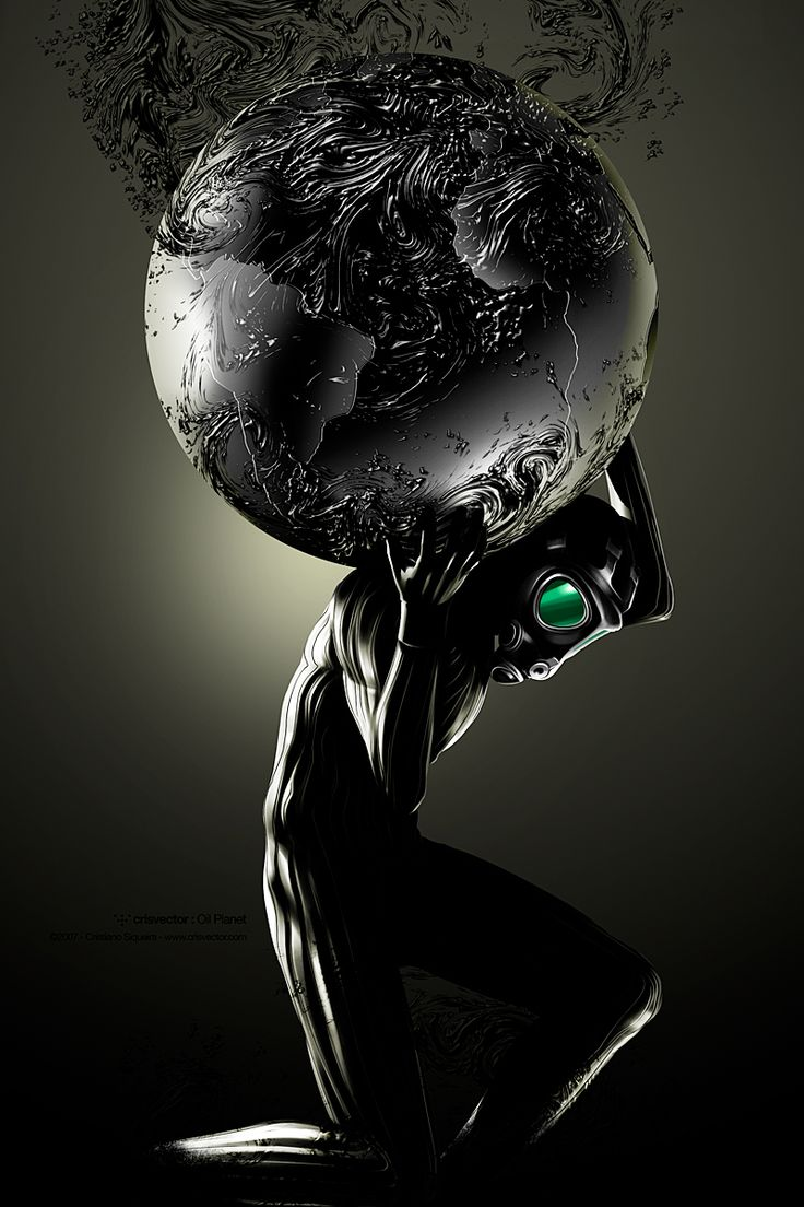 Oil planet: Art Paintings, Oil Planets, Digital Art, Graphics Design, Dark Art, Illustrations Artworks, Inspiration Photoshop, Art Digital, Cristiano Siqueira