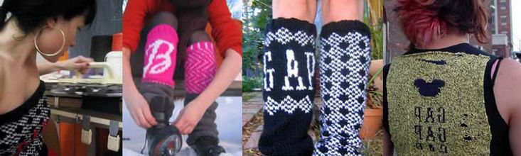 Converts any image to cross stitch or knit patterns.  May do crochet too, but I don't remember.