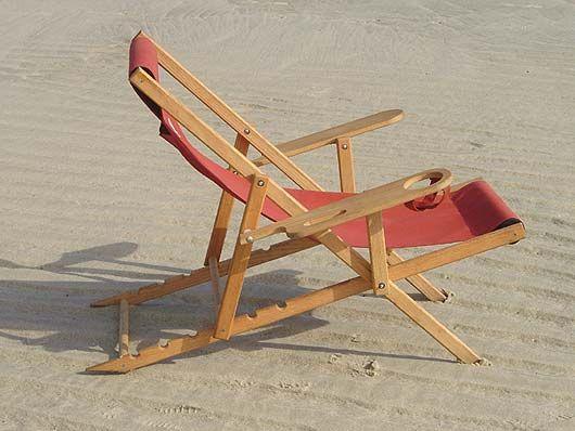 Folding Wood Beach Chair Plans Folding Beach Chair Plans