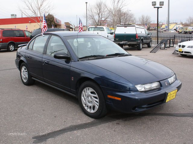 saturn s-series   saturn s series 1998 blue sedan sl2 gasoline 4 cylinders twin cam ...