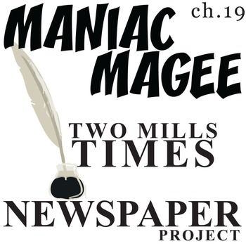 best maniac magee ideas pete the cat art pete maniac magee two mills times newspaper design activity