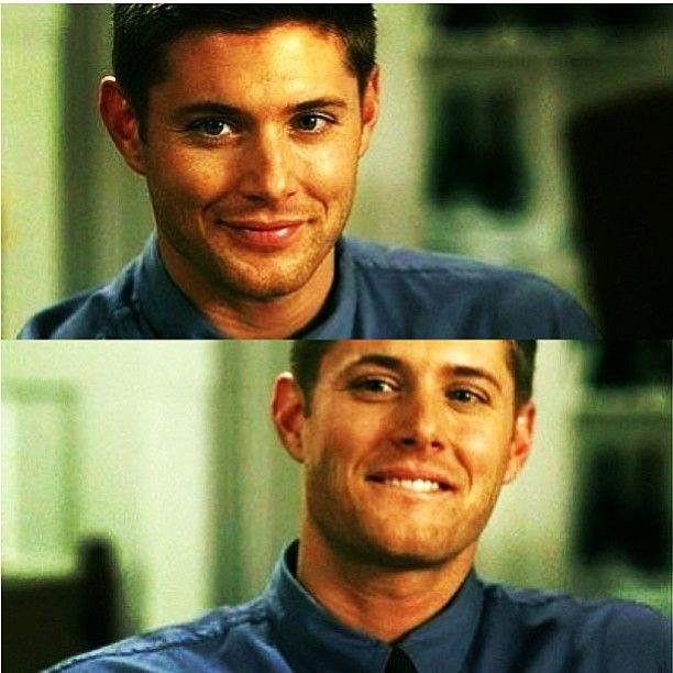 Naughty Dean Look followed by Adorable Dean Lip Biting? Oh, my god, I give! I'm not made of stone, you know!
