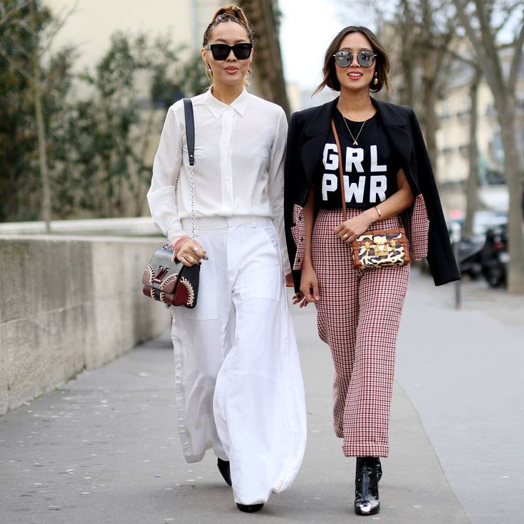 """Aimee Song & Dani Song | Before Ellery a/w 2016 | Paris Now at TELAVIVSTREETVIBE.com @songdani @songofstyle…"""