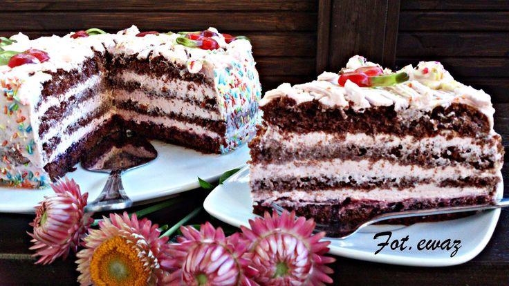 Ewa w kuchni: Tort sernikowy