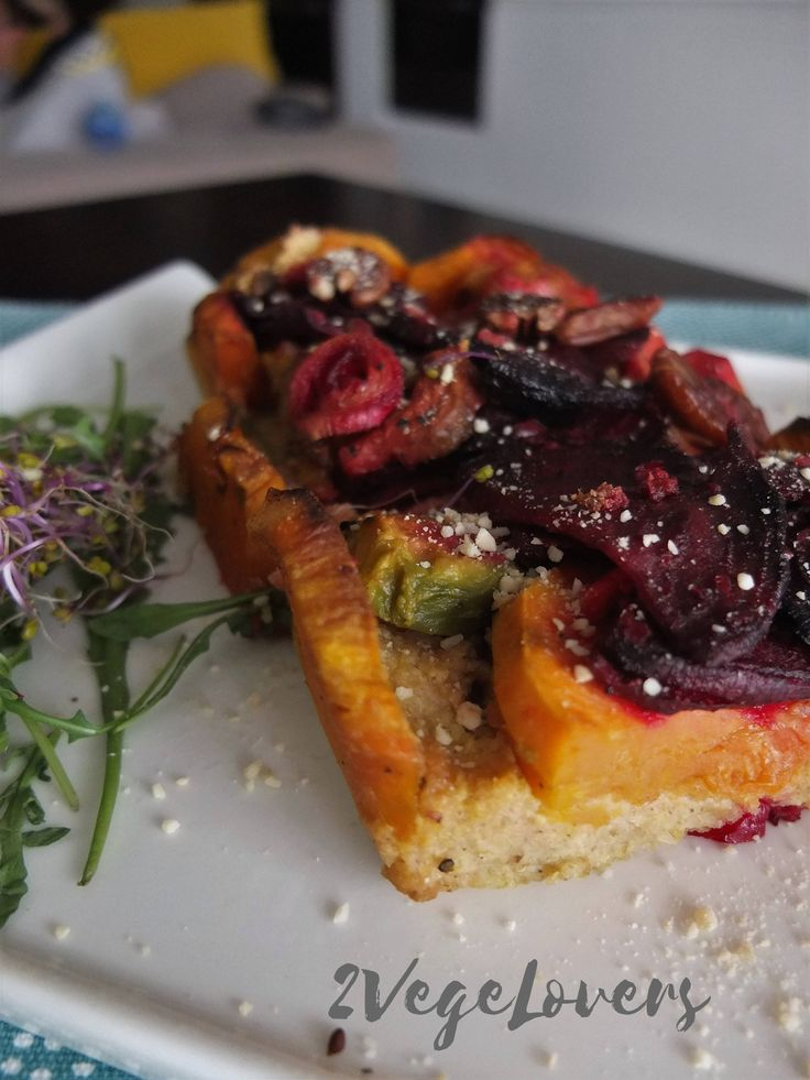 BAKED MILLET WITH SWEET POTATO, AVOCADO AND BEET -